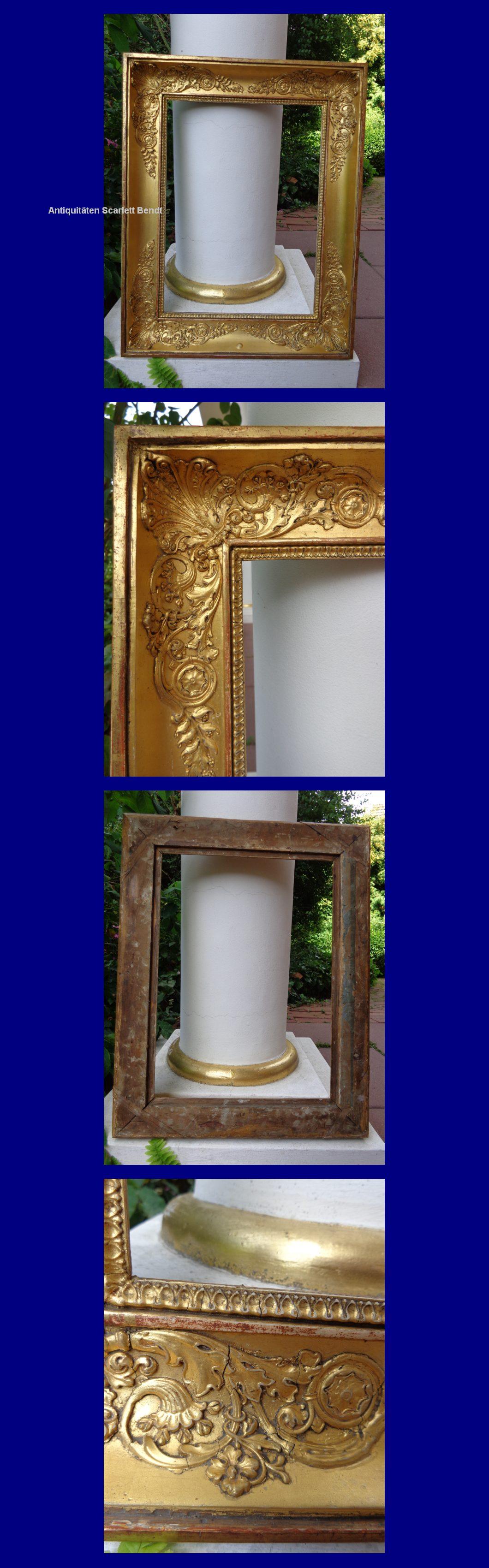 antique frame. Antique Frame, France About 1830. Frame