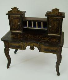 Boulletisch, Puppen M�bel, Table, Dollhouse Furniture