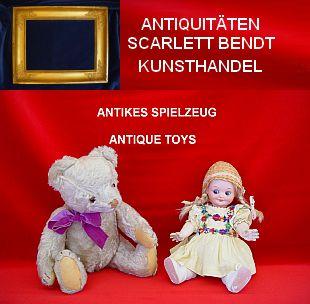 Puppen Saukelstuhl // Holz // ca ca 4 19 cm Hoch .. 9 x 16 cm Durchmesser