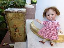 Adorable antique Googly doll, made about 1910.