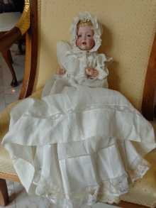 German antique character doll, precious Kestner Hilda, dated about 1914.