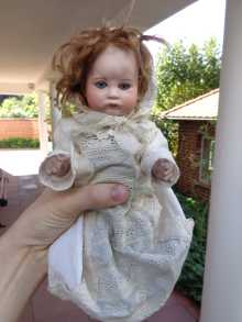 Rare antique SFBJ doll, mold number 252, dated about 1912.