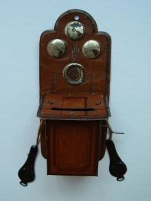 Telefon, f�r Puppenstuben, phone for dollhouses